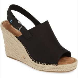 Toms Monica Slingback Wedge
